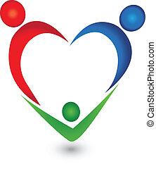 Vector del logotipo familiar