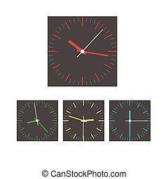 Vector del reloj