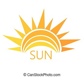 vector del símbolo del sol