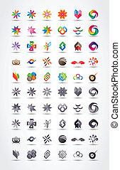 vector, diseño determinado, elementos, icono