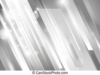 vector, diseño, tono, plano de fondo, plata, resumen, moderno