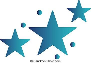 Vector estrellas icono