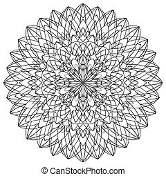 Vector excluye Mandala