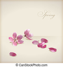 Vector floral flores florales diseño primaveral