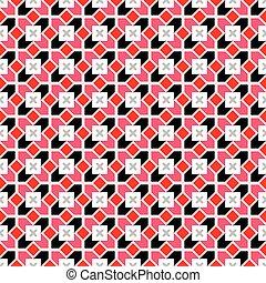 vector geométrico patrón sin costura