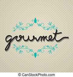 Vector Gourmet Typo
