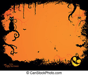 Vector Halloween antecedentes