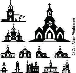 vector, iglesia
