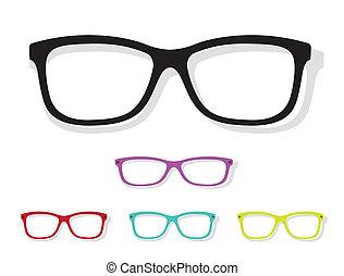 Vector imagen de gafas