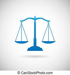 vector, justicia, plano de fondo, gris, icono, plantilla, ley, diseño, símbolo, ilustración, escalas