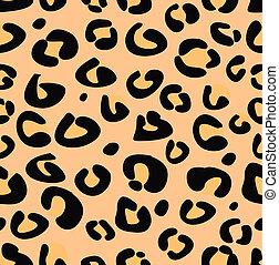 Vector Leopardo textura inmaculada