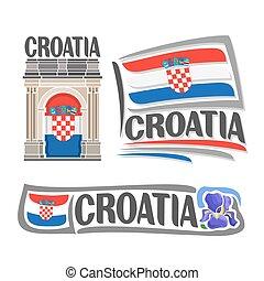 Vector logotipo de croata