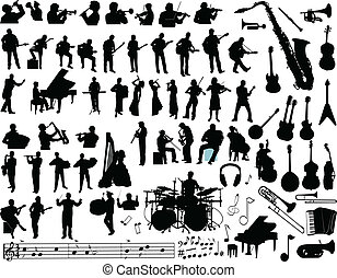 vector, música
