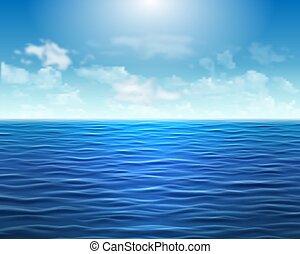 Vector marítimo de fondo