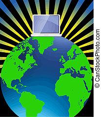 Vector mundial de Internet