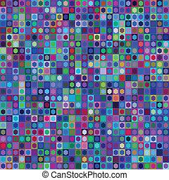 vector, patrón, brochure., patrón, lindo, resumen, geométrico, plantilla, mosaico, seamless, rectángulo, menú, muestra, illustration.