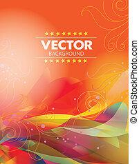 vector, plano de fondo