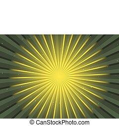 Vector redondo verde