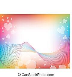 Vector romántico antecedentes cardíacos