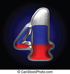 Vector Rusian metal figura 4