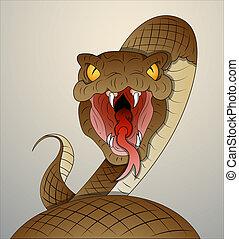 vector, serpiente