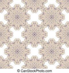 Vector sin daños ornativo con Mandala. Islam, fondo, cubierta, textil.