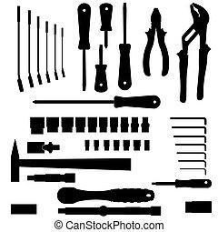 Vectores de diferentes herramientas
