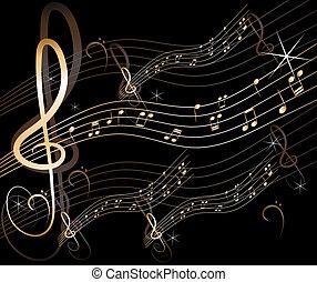 Vectores de música abstracta