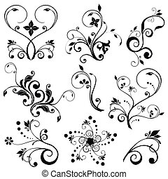 Vectores florales