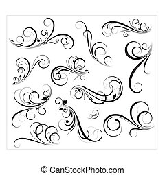 Vectores Swirls