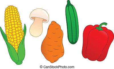 vegetal, 3, conjunto