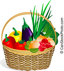 Vegetales en la canasta2