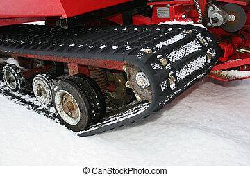 vehículo de la nieve