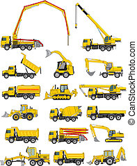 vehículos, construcción