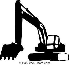 Vehículos de construcción (vector)