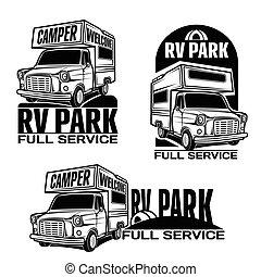 Vehículos recreativos de vehículos de caravanas