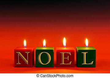 Velas Noel