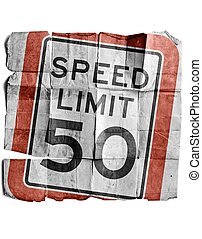 Velocidad límite 50