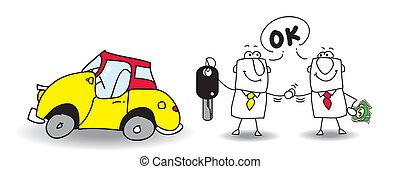 venda, coche, su