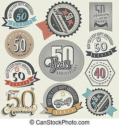 vendimia, colección, aniversario, 50