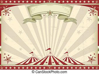 vendimia, horizontal, circo