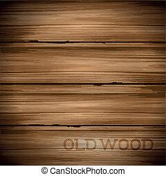 vendimia, madera, viejo, plano de fondo