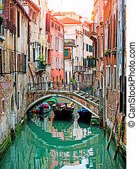 veneciano, canales