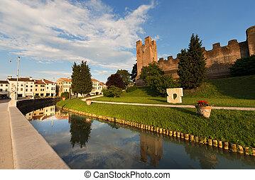 veneto, -, italia, castelfranco, treviso