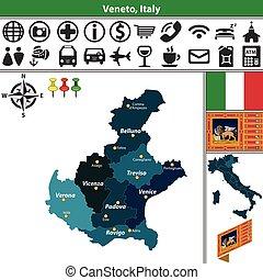 veneto, italia, regiones