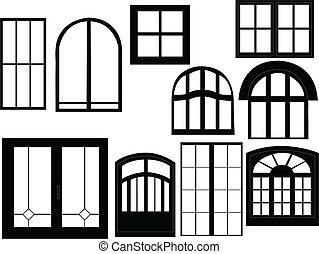 ventana, colección