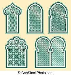 Ventanas árabes o islámicas
