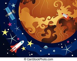 Venus en el espacio