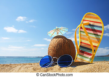 verano, escena de la playa