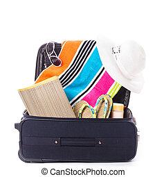 verano, vocación, bolsa